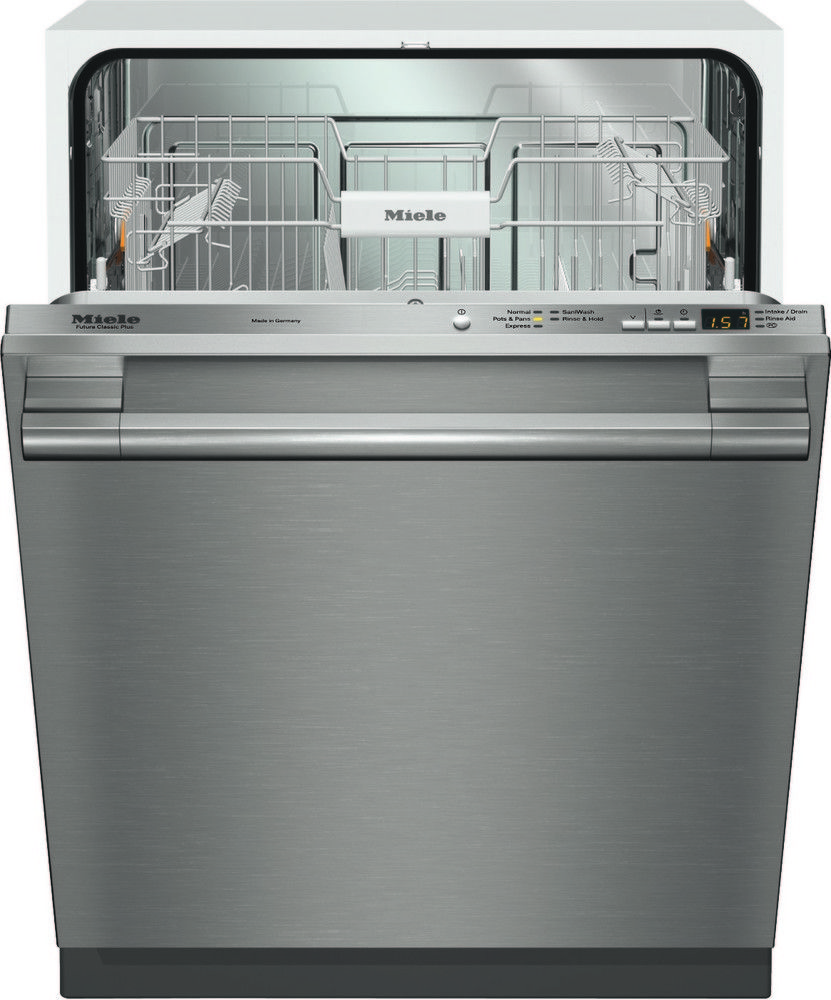 Miele G4975visf Fully Integrated Dishwasher With 5 Wash Cycles Flexicare Plus Basket Design Comfortclose Door Delay Start 16 Place Setting Capacity Energy Built In Dishwasher Integrated Dishwasher Fully Integrated Dishwasher