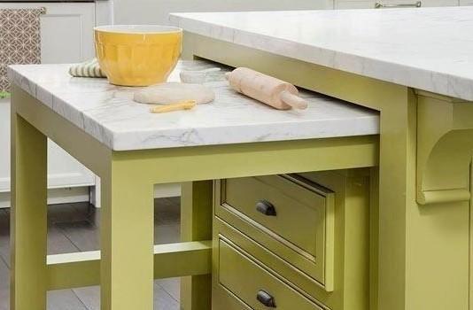 Ingeniosos muebles para ahorrar espacio La cocina es una habitación