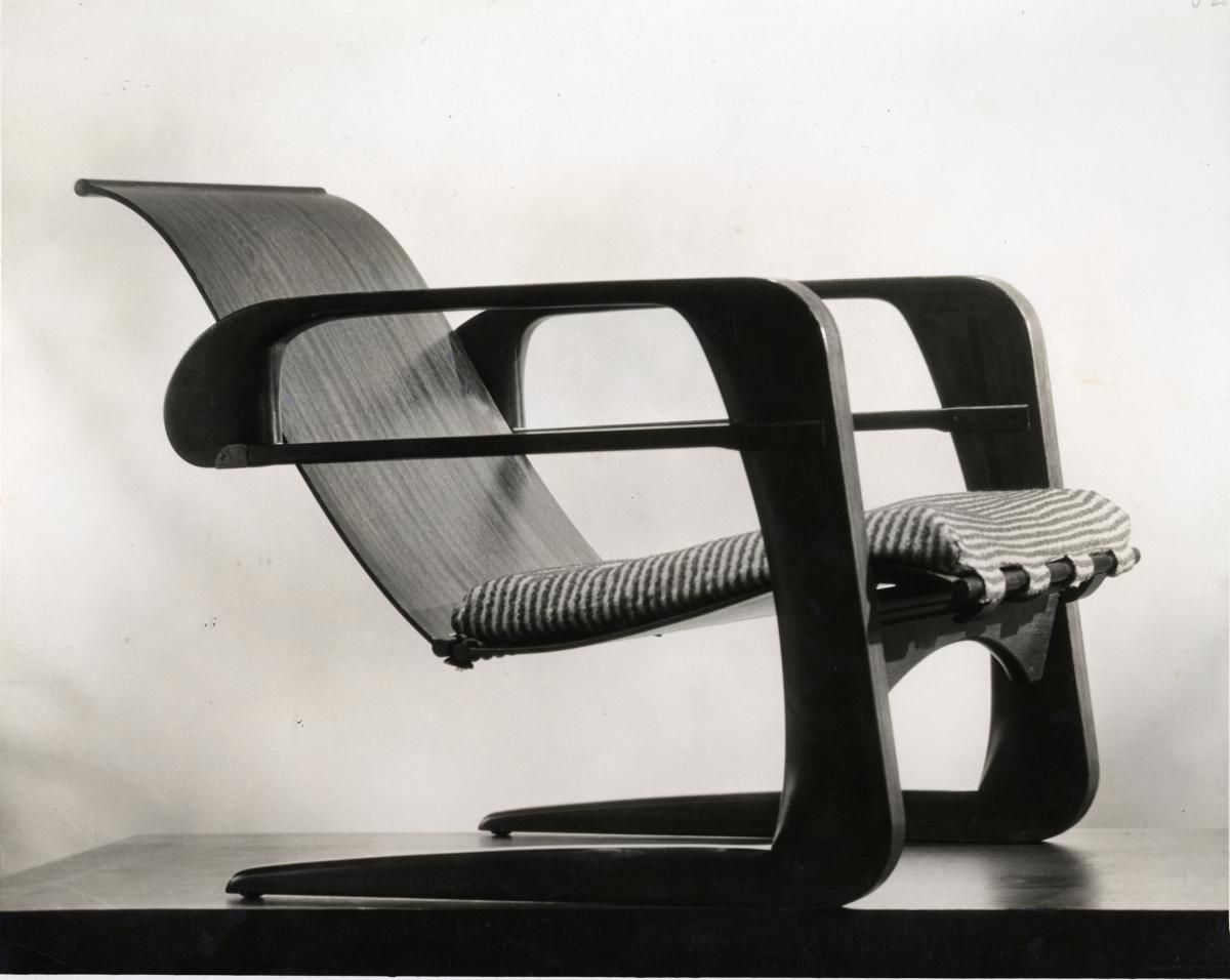 Kem Weber, Airline chair, 1934, from Architecture & Design Collections | Art Museum - UC Santa Barbara