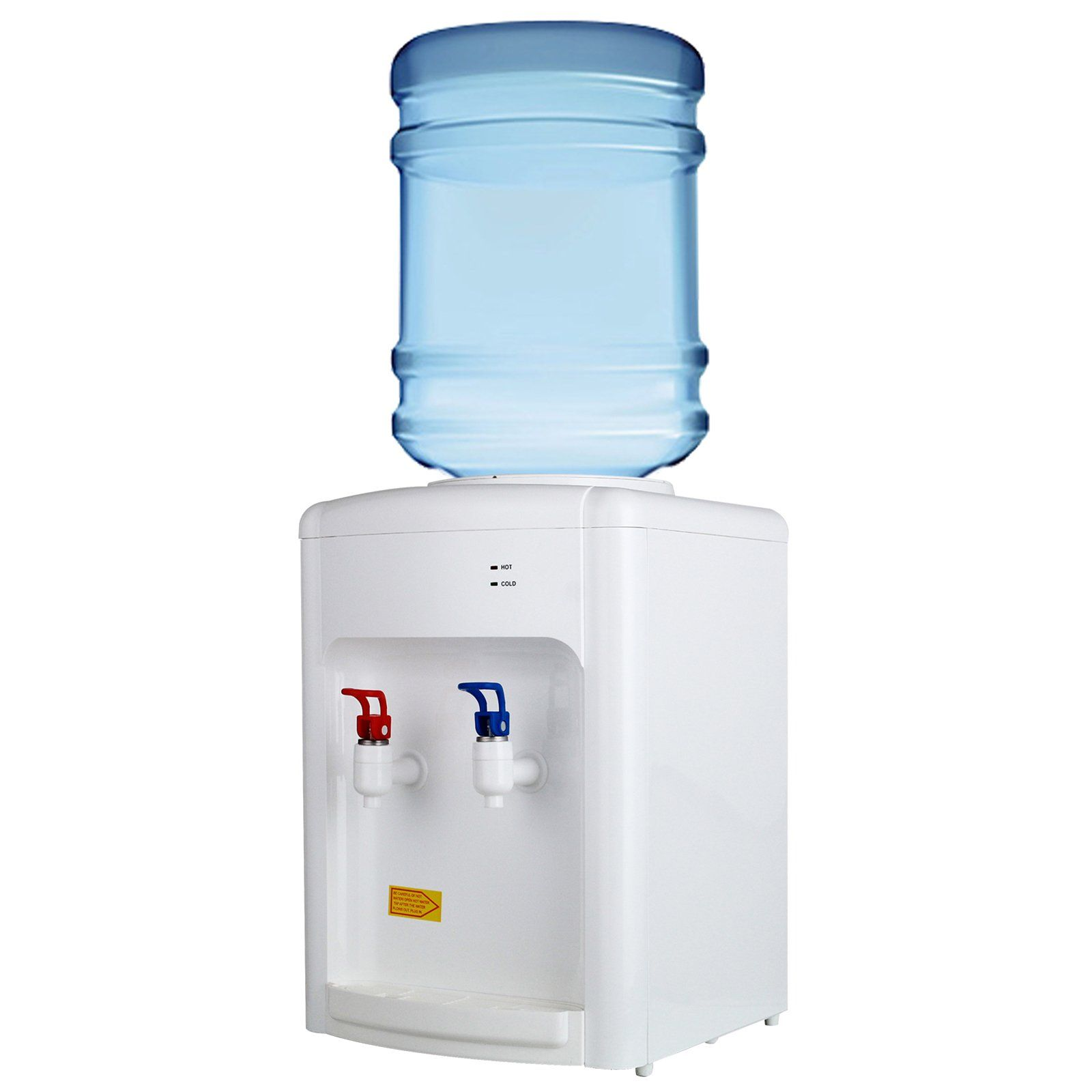 Kuppet Electric Hot Cold Countertop Water Cooler Dispenser Home
