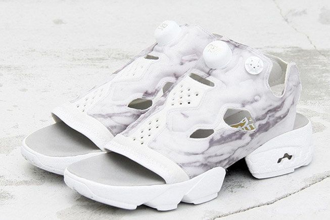 84138a6b09d321 Does the Reebok Insta Pump Fury Work as a Sandal  Beauty   Youth Finds Out