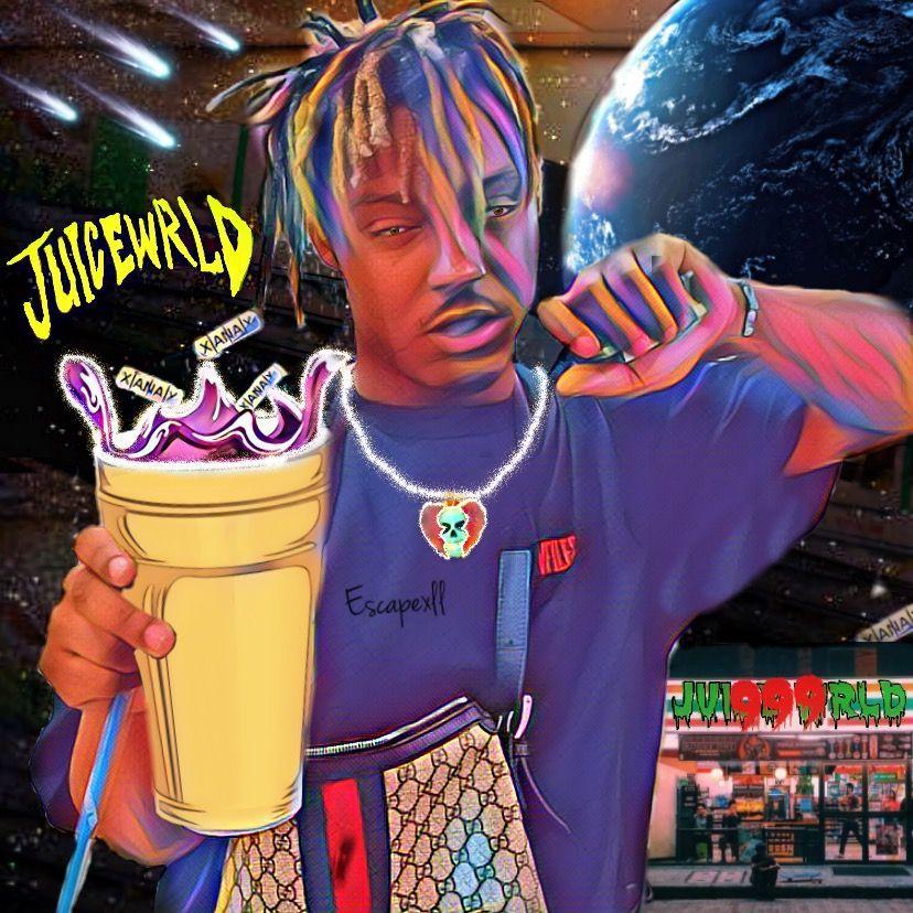 Juice Wrld Art By Me Juicewrldwallpaperiphone Juice Wrld Art By