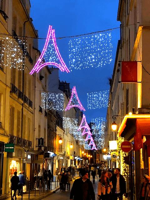 Christmas In Paris Eiffel Tower Lights Christmas In Paris Springtime In Paris Paris