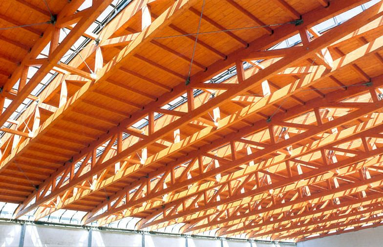 Glulam Abstraction >> Glulam Timber Lattice Beams Diplomka Bamboo Beams Og Construction