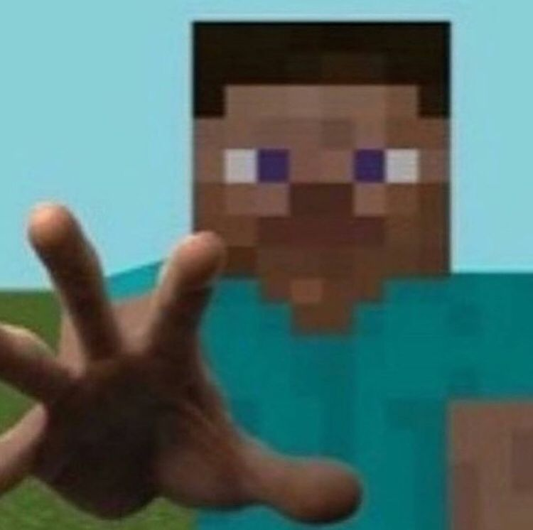 Give Me Your Phone Please Ironic Memes Minecraft Memes Minecraft Images