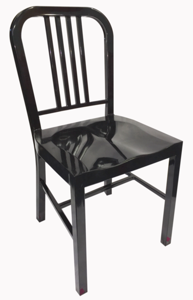 Buy US Navy Chair Replica Emeco 1006 Black Powder Coated Steel Online At  Factory Direct Prices
