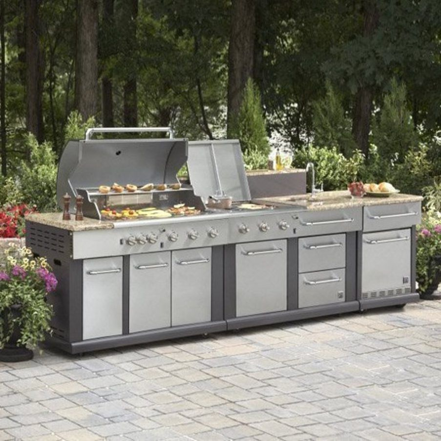 Awesome Best Outdoor Kitchen Ideas On A Budget Outdoor Kitchen Designs Outdoor Bbq Kitc Modular Outdoor Kitchens Outdoor Kitchen Sink Prefab Outdoor Kitchen