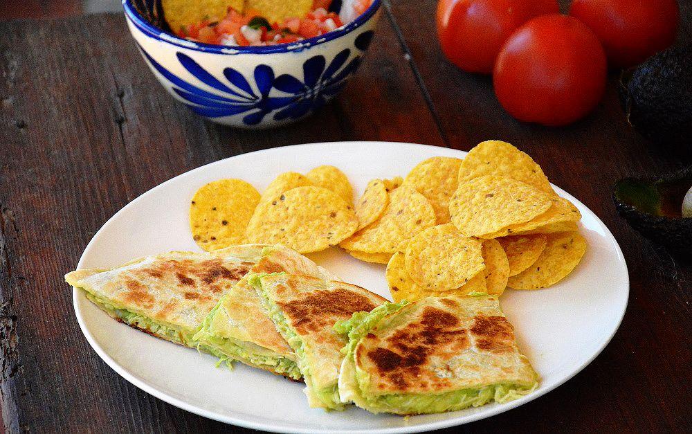 Quesadillas de pollo y aguacate. blog de recetas de cocina ...