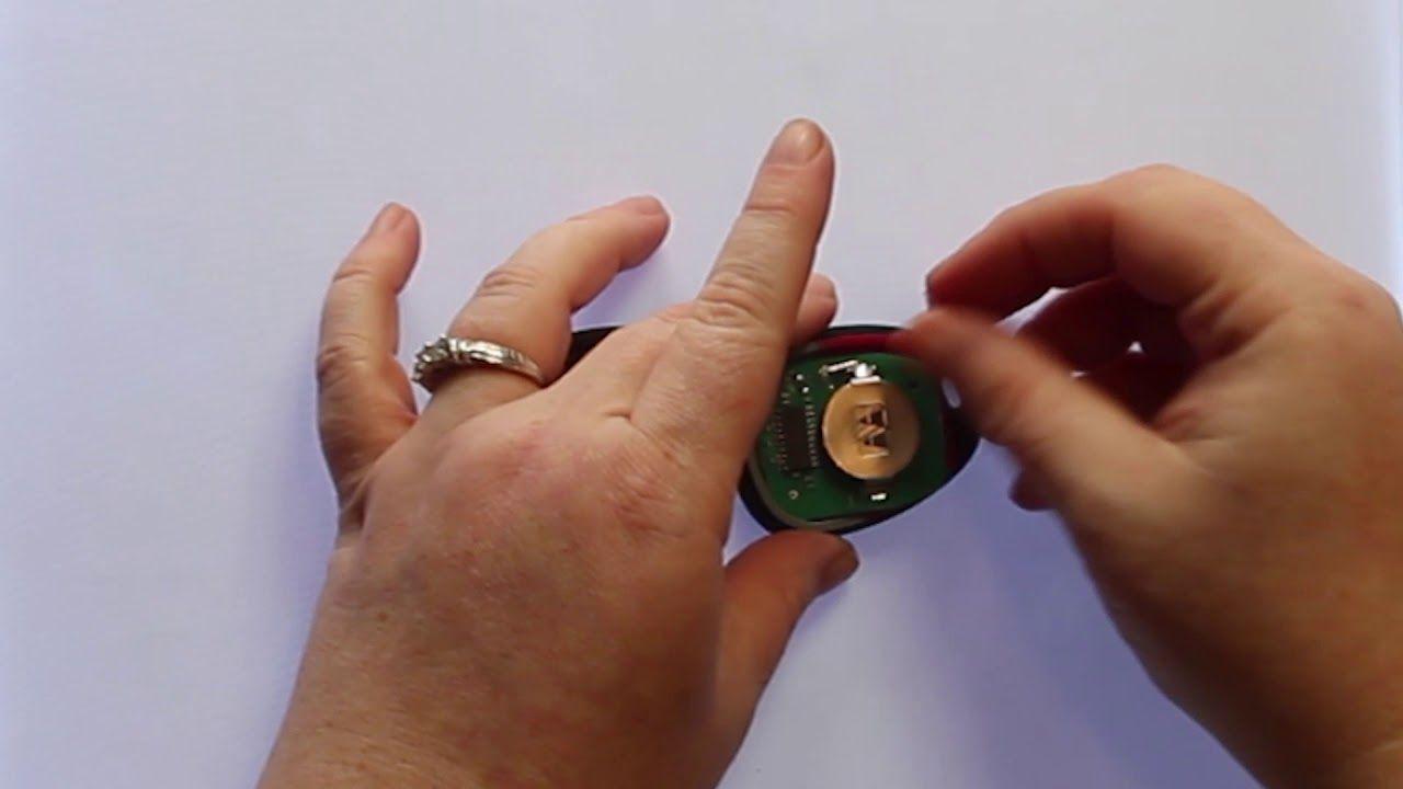2003 2006 GMC Sierra Key Fob Battery Replacement