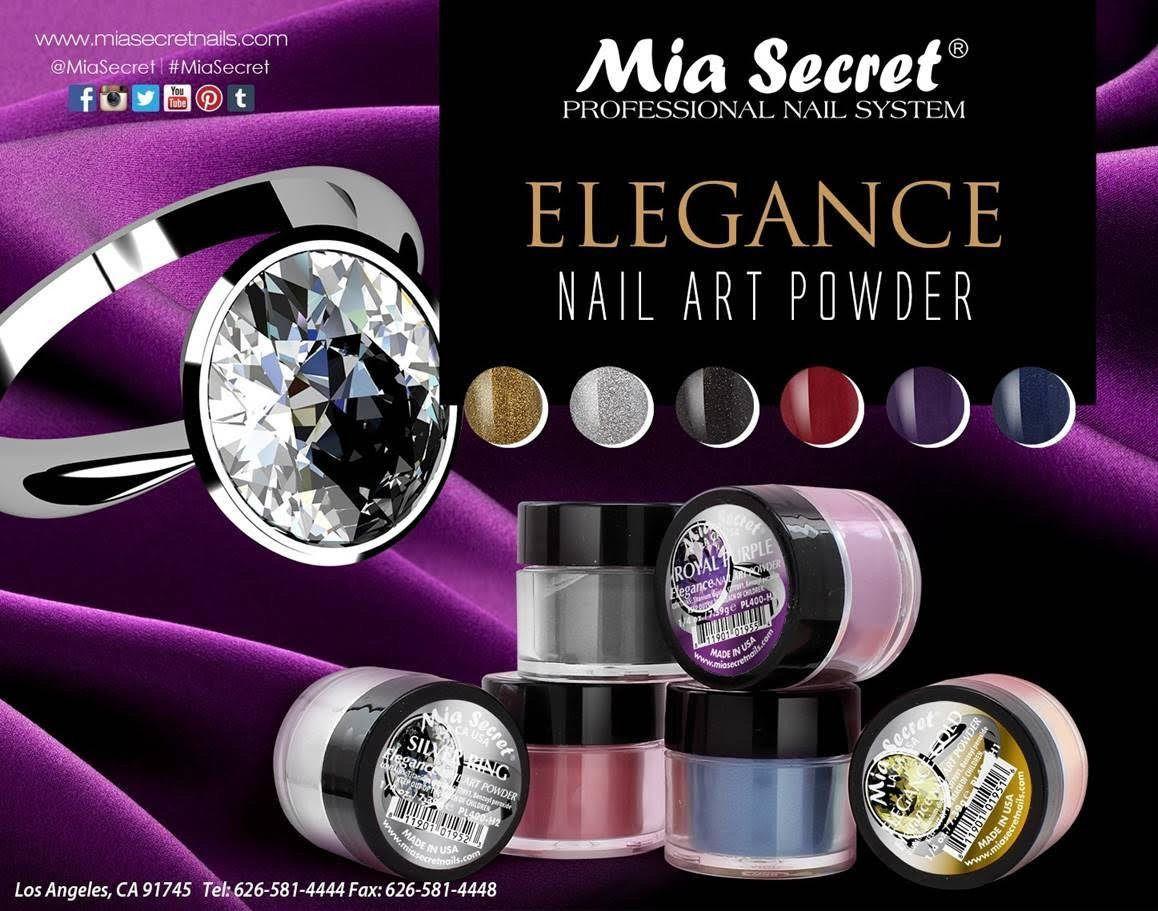 Colors Mia Secret Acrylic Nail Powder Elegance Collection