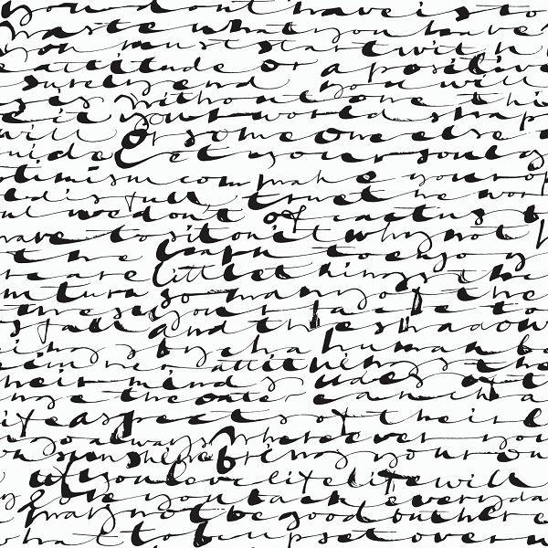 Calligraphy asemic