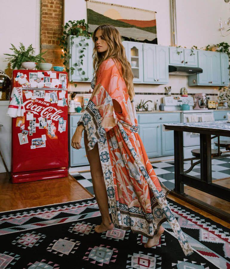Spell Designs Combine Boho And Femininity For The Perfect Mix Kimono Fashion Fashion Maxi Kimono