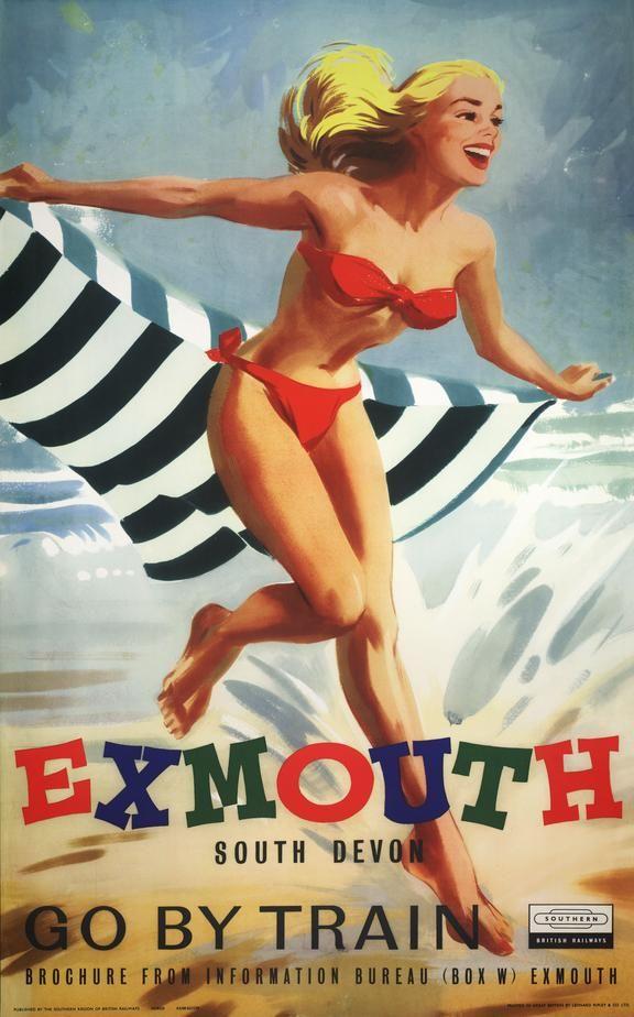 Exmouth - British Railways - 1959 - (Leonard Ripley) -
