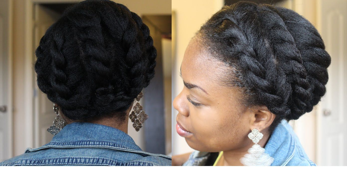 6 Of The Best Styles For Long Or Short 4B/4C Natural Hair