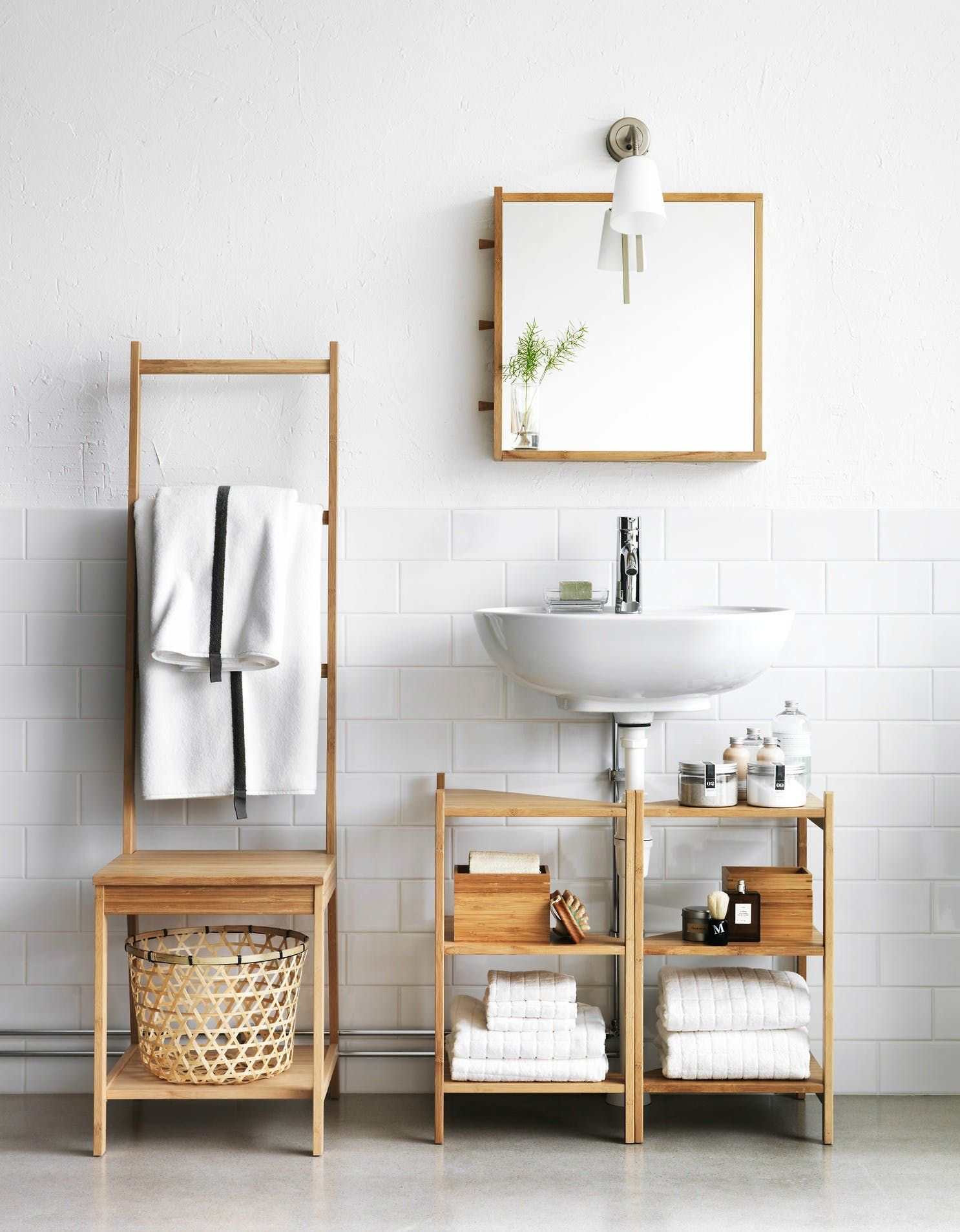 11 Ikea Products Every Renter Should Know About In 2020 Small Bathroom Furniture Ikea Bathroom Accessories Small Bathroom Storage