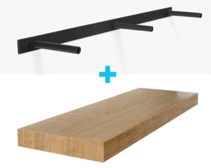 Cut To Length Floating Shelves White Oak