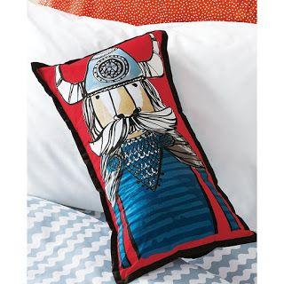 Viking Pillow for Viking Themed Nursery