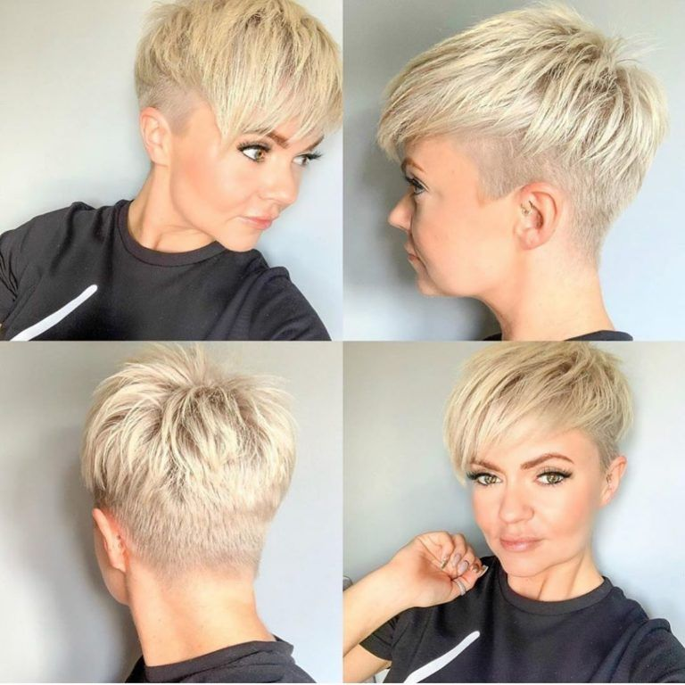 Latest pixie hairstyles for spring 2020 - FullHair