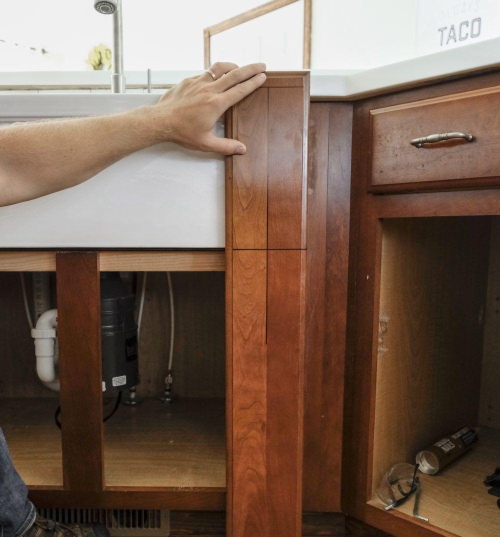 Diy Farmhouse Sink Installation Diy Home Decor Sink Home Decor