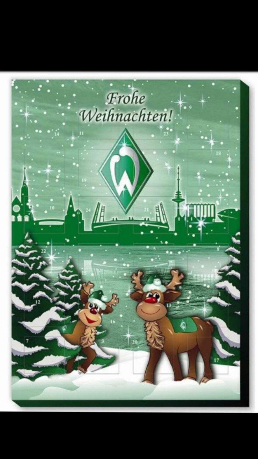 Frohe Weihnachten Werder Bremen.Pin Von Martina Lindenmaier Auf Werder Bremen Werder