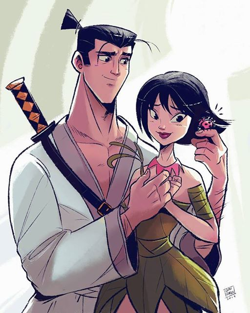 Jack And Ashi A Fanart I Made Of This Romance Instagram