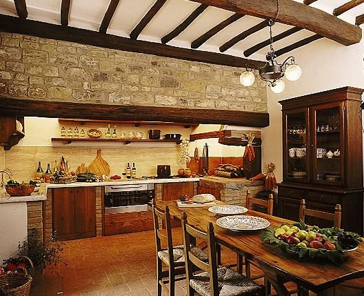 40 Rustic Kitchen Designs To Bring Country Life Designbump: Decorating A Kitchen In Tuscan Style Will Bring A Rustic