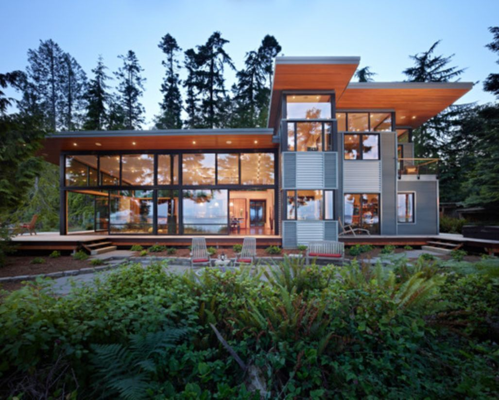 42 Magnificent Shipping Container Homes Design Ideas
