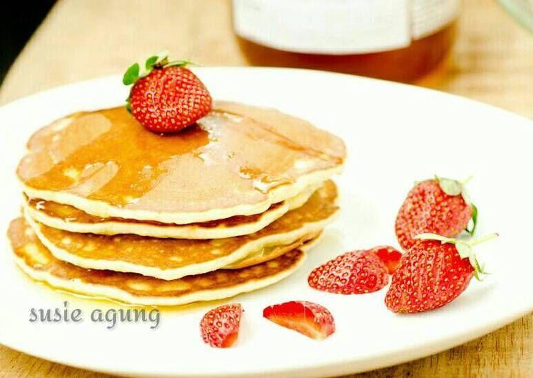 Resep Pancake Pisang Kilat Oleh Susi Agung Recipe Food Recipes Yummy Cookies