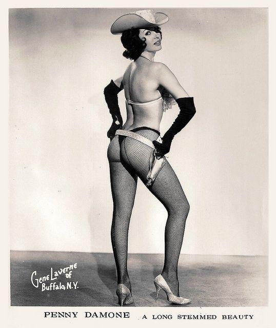 Burlesque Dancer Penny Damone