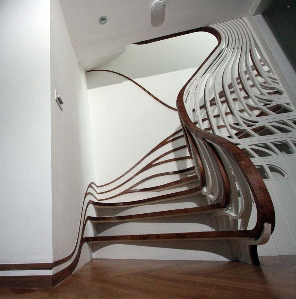 Curvy Stairs   Stairs, Designs Of Stairs Inside House, Home Stairs Ideas,  Staircase