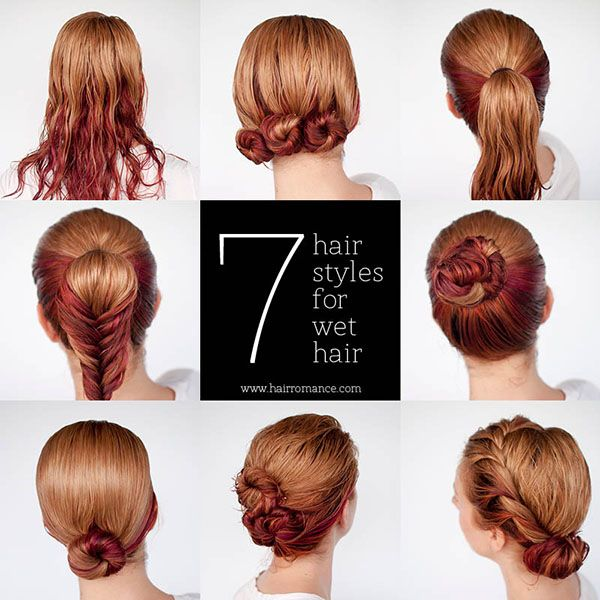 21 Hairstyles You Can Do In Less Than Five Minutes Hair Styles Hair Tutorials Easy Long Hair Styles