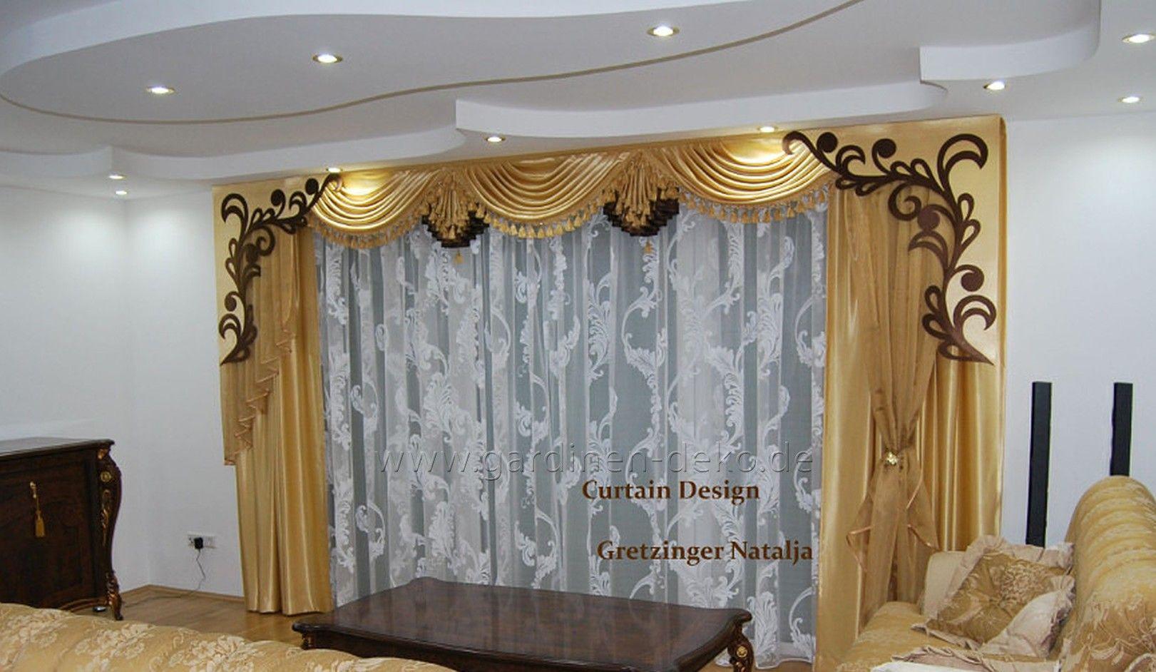 Edler klassischer Vorhang in dunklem Champagnerton - http://www.gardinen-deko.de/edler-klassischer-vorhang-dunklem-champagnerton/
