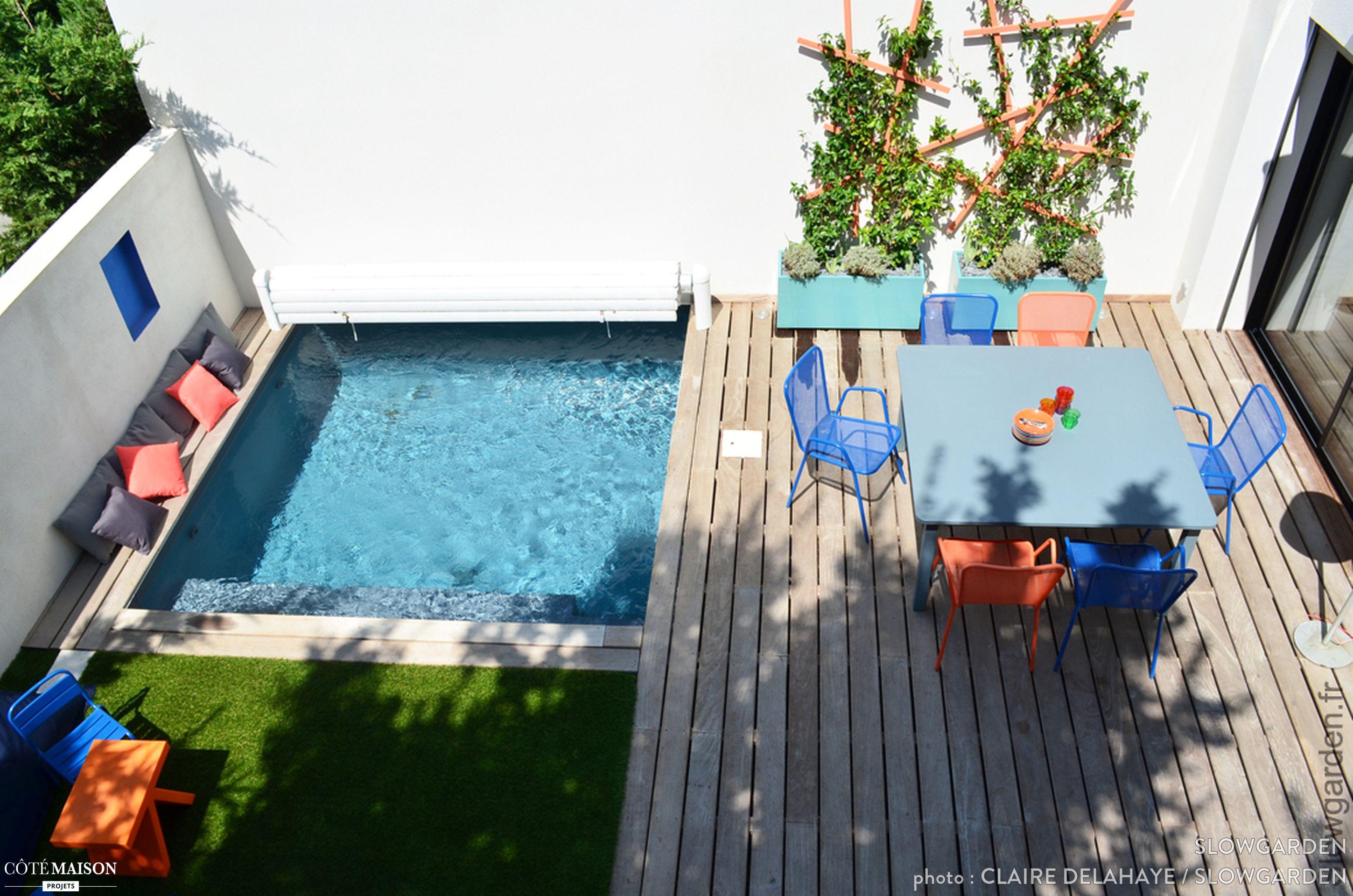 Petite Terrasse Avec Piscine