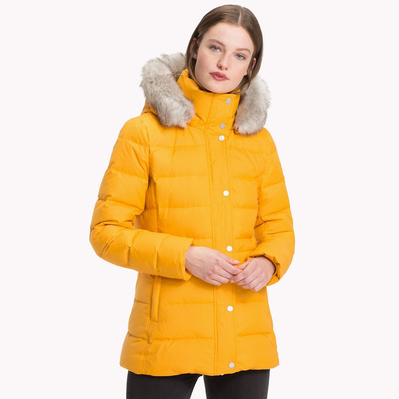 Tommy Hilfiger Padded Down Jacket Sunflower Tommy Hilfiger Women Main Image Tommy Hilfiger Women Tommy Hilfiger Down Jacket [ 1364 x 1364 Pixel ]