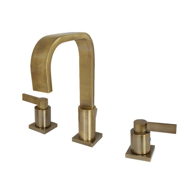 Nuvo Fusion Widespread Bathroom Faucet With Drain Assembly Bathroom Faucets Widespread Bathroom Faucet High Arc Bathroom Faucet