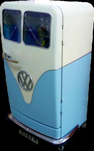 Automobil Retro Kühlschrank   Retrolook