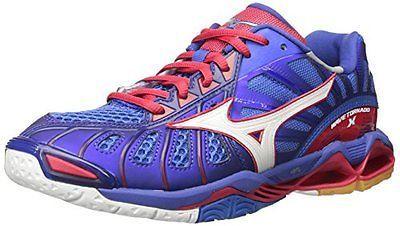 premium selection 0946e 86f4f Clothing 159130  Mizuno 430201.5P1k.13.1000 Mens Wave Tornado X Volleyball- Shoes -