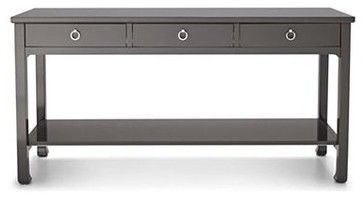 Exceptionnel Happy Chic By Jonathan Adler Crescent Heights 60 Inch Console Table, Gray    Modern