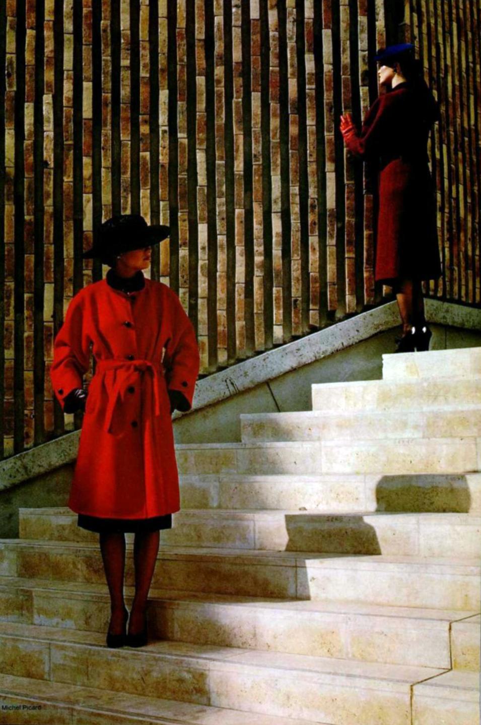 Yves Saint Laurent, L'Officiel magazine 1979