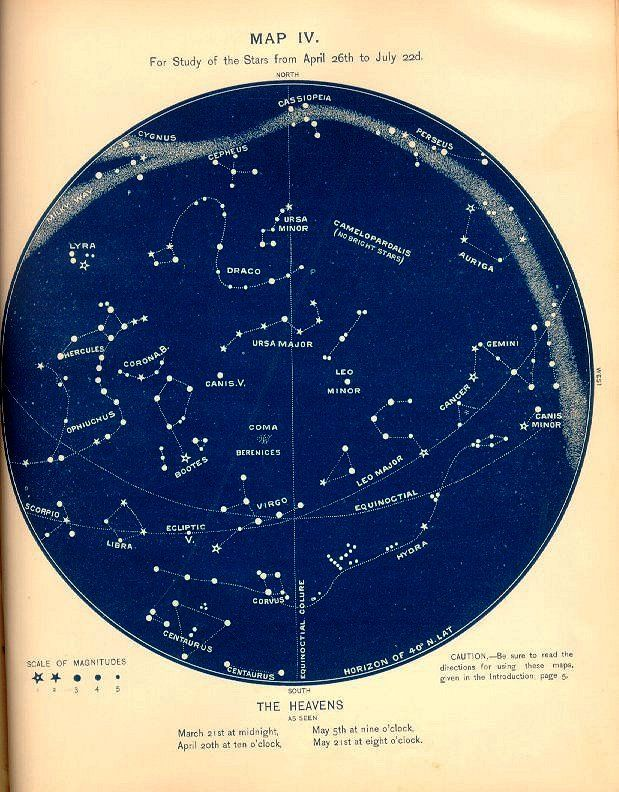 Inspiration Vintage Constellation Maps Cool Tattoo Pinterest - How to read a star map