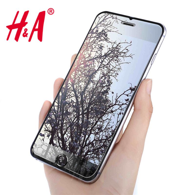 H&A 2.5D 0.26mm 9H Premium Tempered Glass for iphone 7 6 6s plus Screen Protector for iphone 6 7 6s 5 5s 4 protective glass //Price: $5.88 & FREE Shipping // Go to Femannbuydirectchina.com