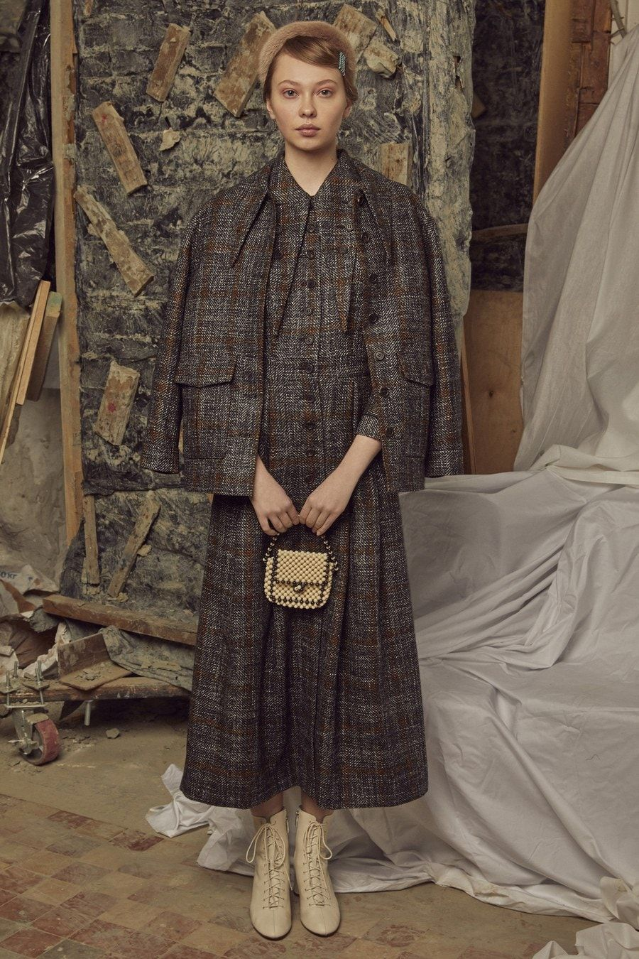 Sfilata di moda ready-to-wear autunno 2019 Alena Akhmadullina