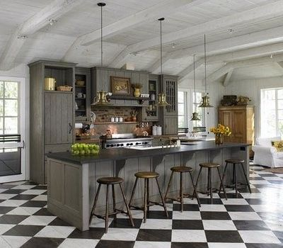35 Cool Checkered Flooring Ideas