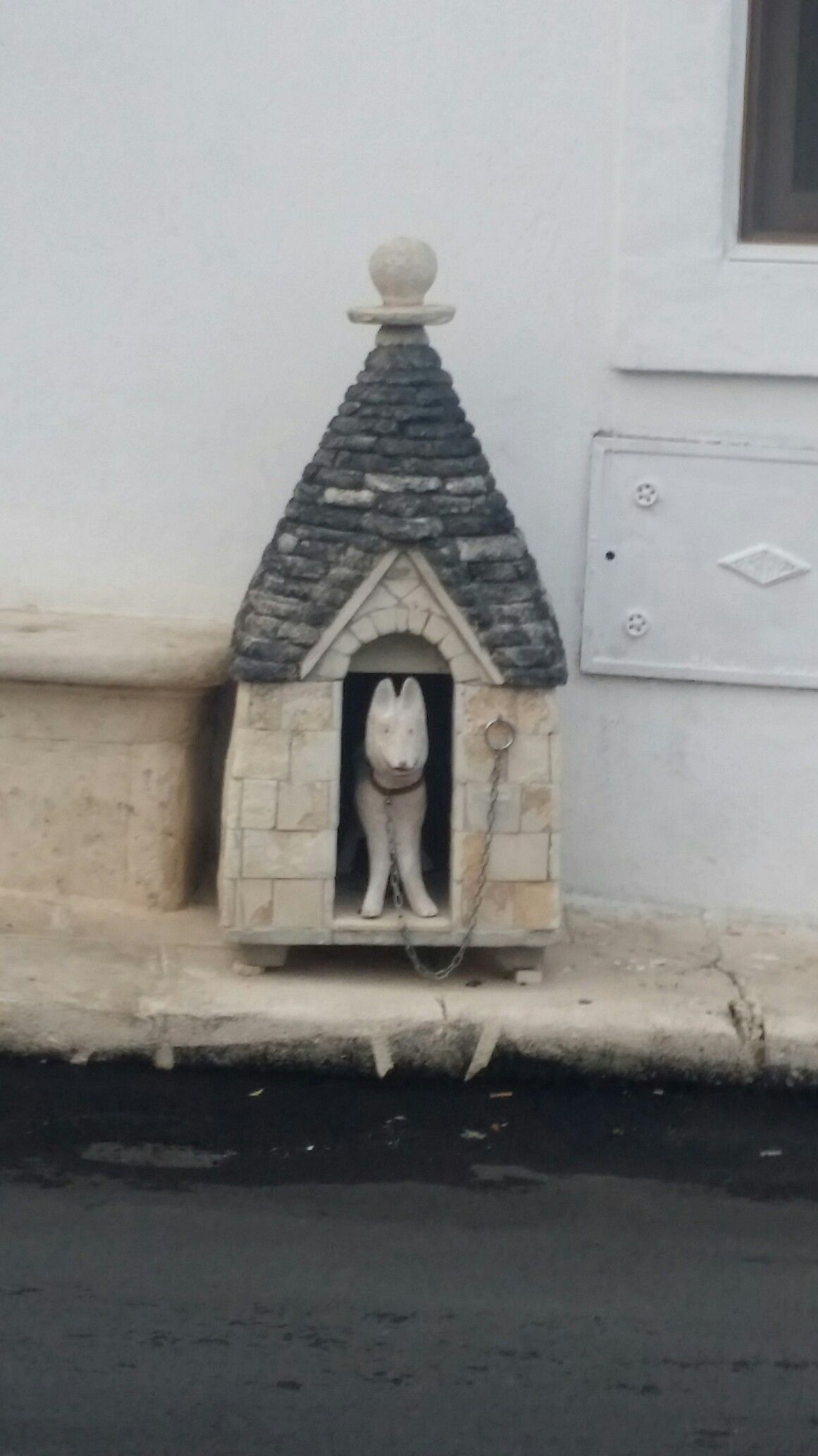 Leuk idee, een hondentrulli