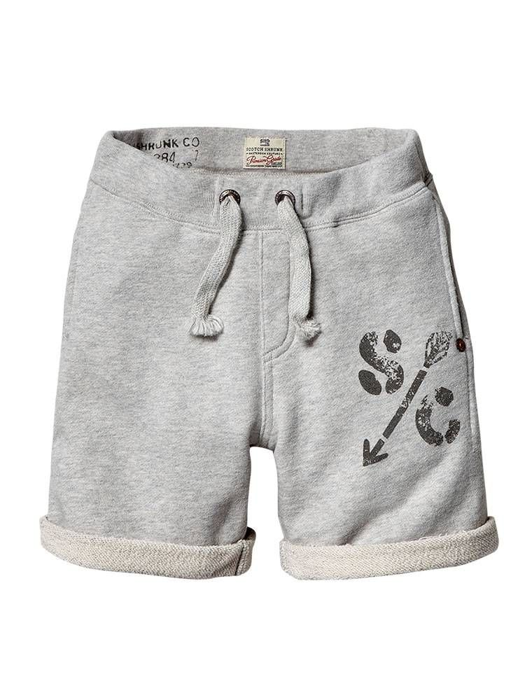 9fb6a29051875 Basic sweat shorts - grey melange - 6