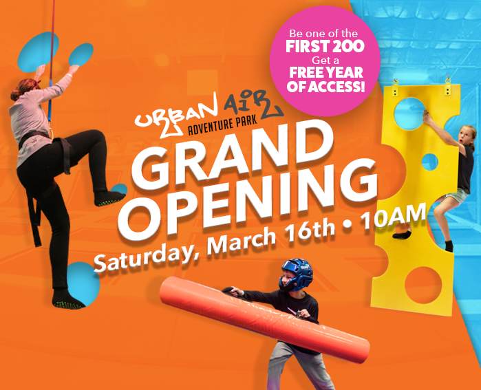 Urban Air Adventure Park Grand Opening at The Avenue