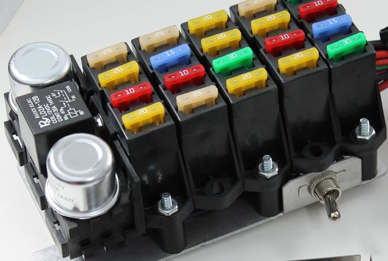 ez wiring fuse block collection of wiring diagram u2022 rh saiads co Blue Sea Fuse Block Wiring ez wiring fuse block wiring diagram