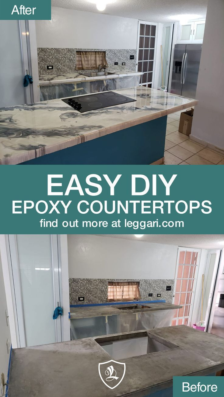 Diy metallic epoxy countertop kits are available the best