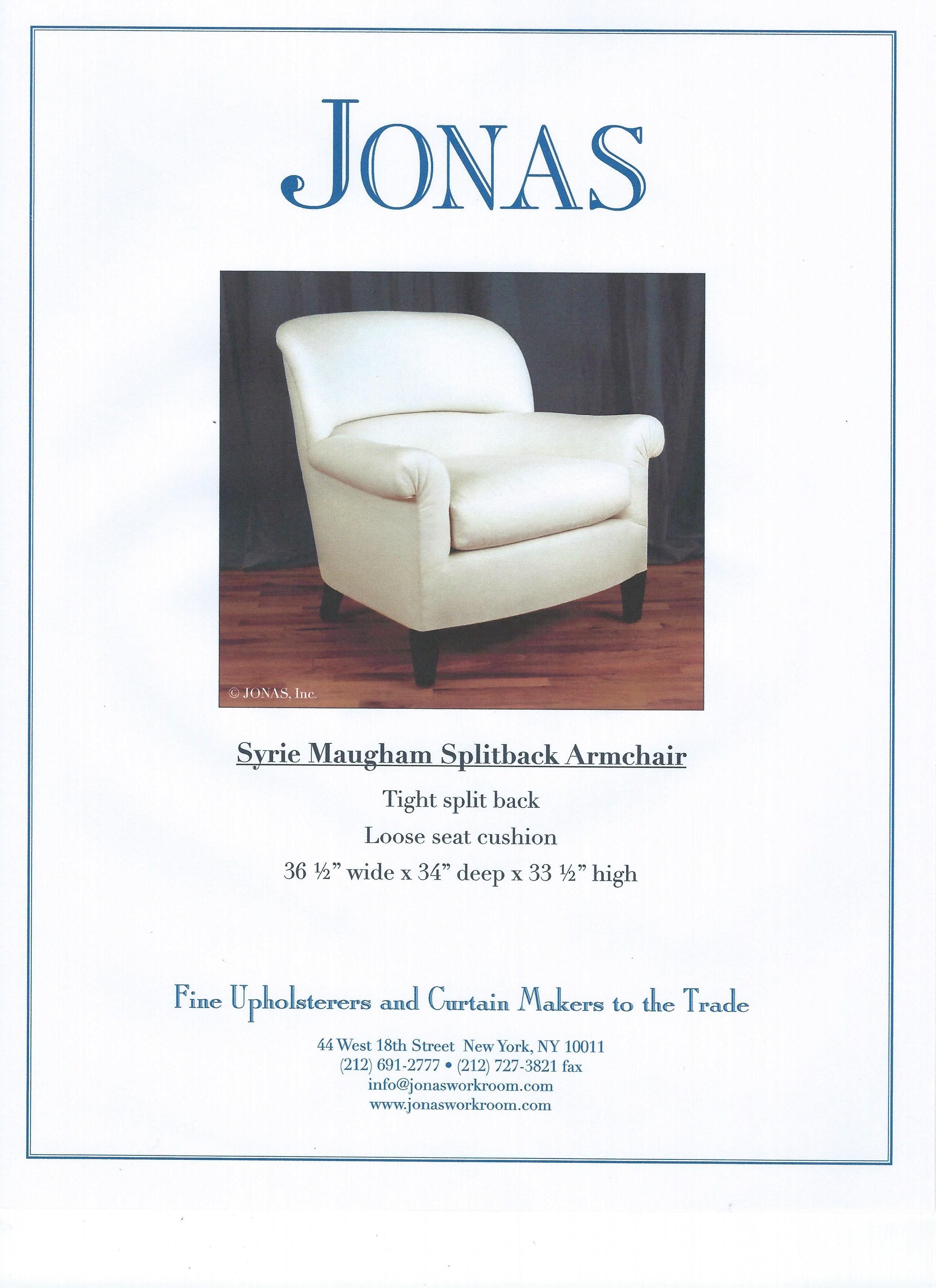 Syrie Maugham chair, Jonas | DWS Livingroom chairs | Pinterest