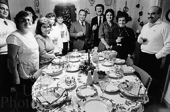 This Is An Italian Family It In Picture Shows Me How Close They Are Because There All Eating Together Around A Dinner Table Their Culture